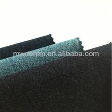blue denim like knitted fabric single jersey stock lot