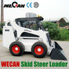 650Kg Load Capacity China New Mini Skid Steer Loader for Sale Pneumatic Tires Closed Cab WT650D GM650A