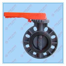 Plastic butterfly valve agricultural irrigation valve