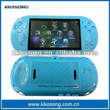 Handheld 4.3 inch mp4 player music downloads