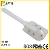 Europe hot sale cookie baking tools santa clause printing 100% food grade silicone scraper