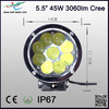 Hot sale 6 inch round shape led light auto tuning for off road