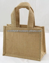 2014 jute lunch bag