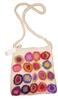 Flower shoulder felt bag
