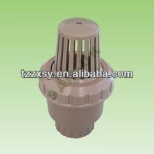water pump foot valve (thread or socket)