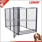 High quality outdoor strong welded large fence dog kennels