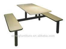 Melamine board school dining furniture for student
