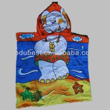 printing poncho beach towel kids poncho towel poncho hooded towel
