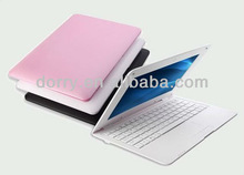 10 inch laptop android 4.2 OS VIA 8880 netbook dual core HDMI USB port webcamera gaming laptops cheap