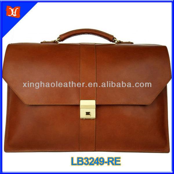 2014 men's business leather bag fashionable business laptop bag,new style business bag,business travel bag
