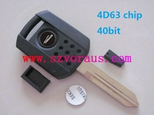 NEW FO 4D63 CHIP UNCUT REPLACEMENT BLADE TRANSPONDER IGNITION KEY BLANK