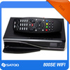 Smart Box Receiver 800Se-C With Wifi A8P Hd Satellite Receivers 6Cm Quiet Fan And Hi Connector