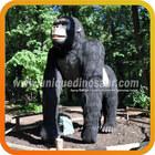 Vivid Robotic Animal Model Gorilla Statues For Sale