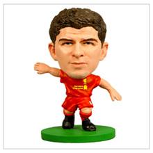 Custom pvc football player toy figure