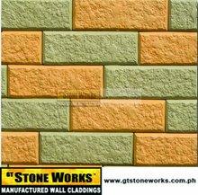 WALL BRICKS - FLAT HAMMER BRICKS Volantis - Cement Bricks for interior and exterior wall use