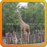 Remote Control Animal Model Life Size Giraffe Statues