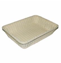 WI-1340,Factory price PP rattan bread basket