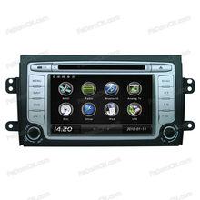 "7"" Touch Screen For Suzuki SX4 Car DVD player with GPS navigator bluetooth Radio USB"