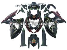 For 09-10 SUZUKI GSXR1000 GSX-R1000 2009-2010 #3 Black Motorcycle Fairing Body Work