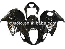 For SUZUKI GSX-R1300 99-07 HAYABUSA 2000 01 02 03 Black Motorcycle Fairing Body Work