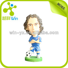 Promotion 3D football action figures; custom plastic action figures;baseball player action figures toys