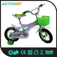 Beautiful Green Used Kids Bicycle