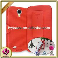 case smart phone for samsung galaxy s4 protector de plastico clip holster