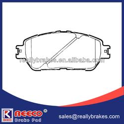 Top Quality Semi-metallic Brake Pad For Toyota Alphard Used Car