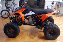 KTM 525 XC ATV THE CROSS-COUNTRY CHAMPION