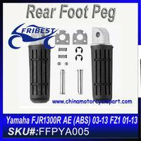 For Yamaha YZF R1 R6 FZ1 FZ6 FZ6R FJR1300 Motorcycle Foot peg FFPYA006