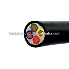 600/1000v 4 core power cable 4mm