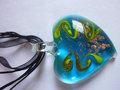 La moda de nueva estilo cristal de murano de colores de la joyería