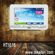 [TEKAIBIN] HT10.16 floor heating color touch screen adjustable bimetal thermostat