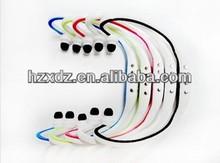 W3 Behind head sport headset,Wireless card mp3 player headset