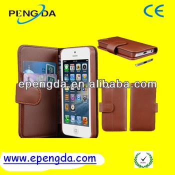 for iphone 5 leather case,leather case for iphone5,pu leather case for iphone5