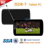 7 inch tablet tv ISDB-T digital TV & Analog TV for Mexico Brazil