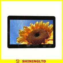 super slim 15 inch shelf screens pos media player