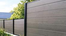Waterproof ANTI-UV Outdoor Wood Plastic Fencing