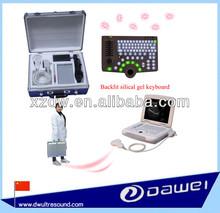 animal used laptop ultrasound scanner for swine, equine, bovine, sheep