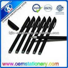 14cm branded pen /advertising ball pen/ free samples promotional gel pen