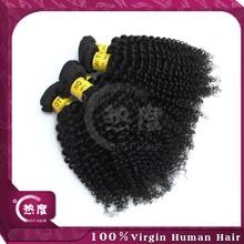 cheap 14 16 18 kink curl brazilian hair weaves virgin kinky curly hair