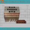 WPC Extrusion Profile Hollow Laminate Flooring Molding