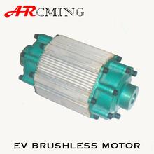 high torque hub motor 10kw for car