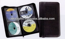 ADACD - 0032 professional fashion cd carrying case / best selling cd dvd wallet / cd dvd storage bag