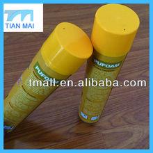 Gun Tube Type Spray PU Foam Sealant factory/manufacturer 750ml/600ml