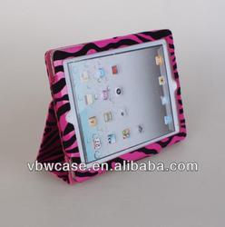 zebra cover case for ipad, zebra cover case for ipad 1, zebra leather case for ipad