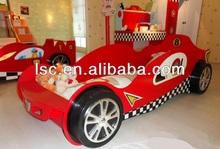 wooden kids car beds