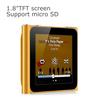 "1.8""TFT screen mp4 digital player user manual Built-in loudspeaker (optional) and fm function"