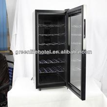 28 bottles Electronic wine Cooler Wine cooler Cabinet thermoelectric glass door wine cellar cooler