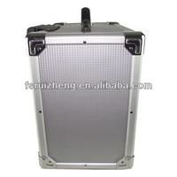 Best design heavy duty aluminum trolley flight case RZ-LTR006-3